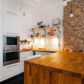 Эко-стиль в интерьере кухни