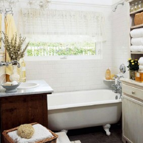 Ванная комната в стиле французского прованса