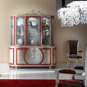 Отделка деревянной мебели под серебро