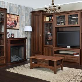 Мебель из МДФ для гостиной комнаты