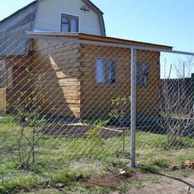 Дачный домик из бруса естественной влажности