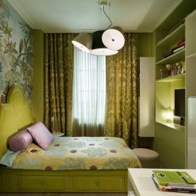 Интерьер уютной детской спальни