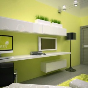 Дизайн детской комнаты в стиле хай тек