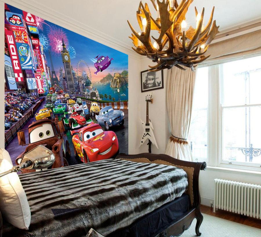 Интерьер спальни для мальчика площадью 12 кв метров