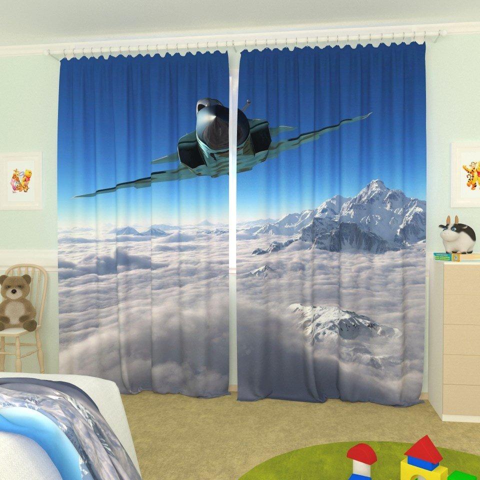 Фото-шторы для комнаты мальчика школьного возраста