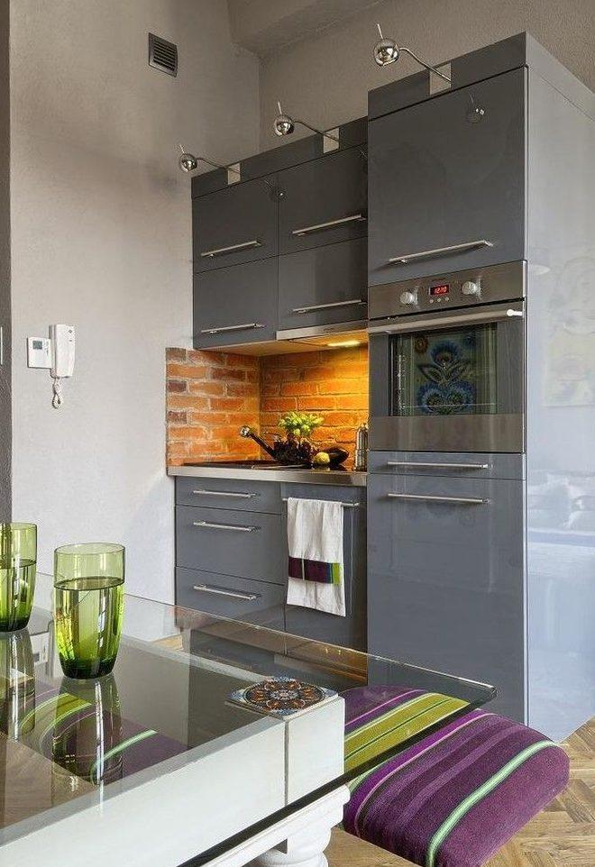 Кухонный гарнитур для компактной кухни