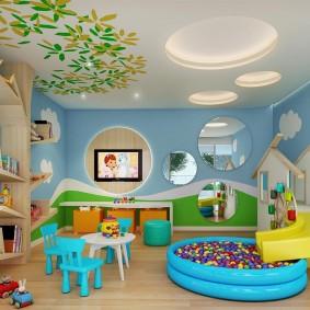 игровая детская комната фото