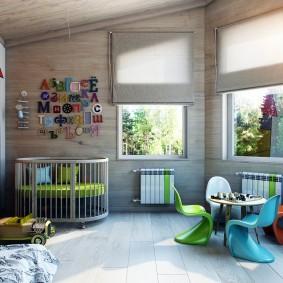 игровая детская комната фото декор
