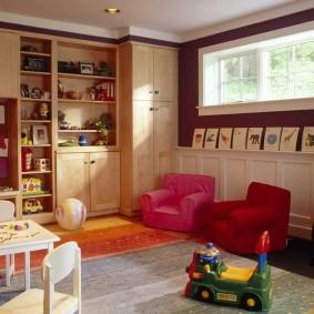 игровая детская комната фото декора