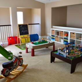 игровая детская комната идеи декор