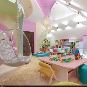 игровая детская комната фото интерьер
