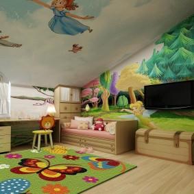 игровая детская комната идеи интерьера