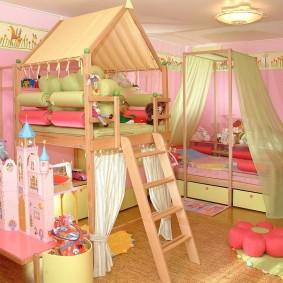 игровая детская комната оформление