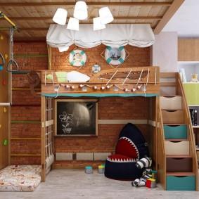 игровая детская комната идеи фото