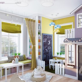 игровая детская комната идеи оформление