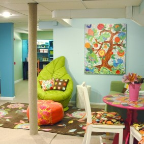 игровая детская комната варианты