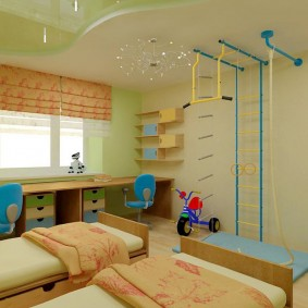 игровая детская комната варианты фото