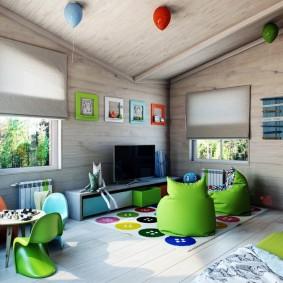игровая детская комната идеи варианты