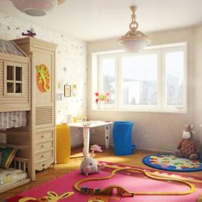 игровая детская комната виды