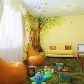 игровая детская комната фото виды