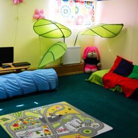 игровая детская комната фото видов