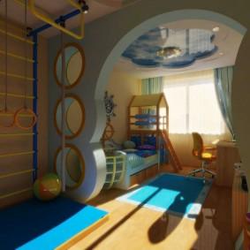 игровая детская комната идеи виды