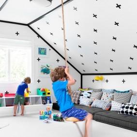 игровая детская комната виды дизайна