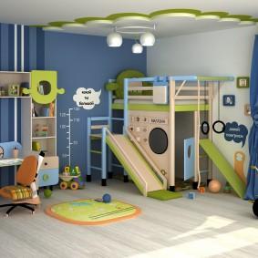 игровая детская комната дизайн фото