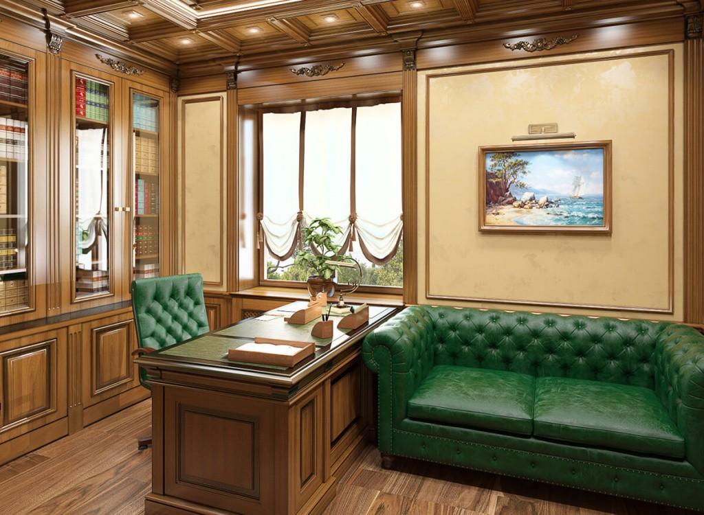 интерьер кабинета фото вариианты