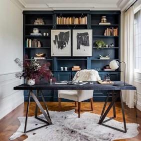 кабинет в квартире идеи