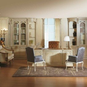 кабинет в квартире идеи дизайна
