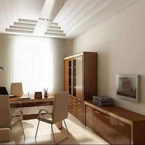кабинет в квартире идеи интерьера