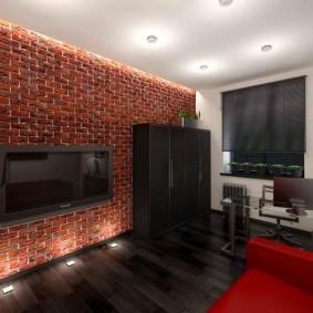 кабинет в квартире оформление