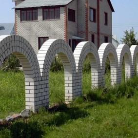 кирпичный забор фото дизайна