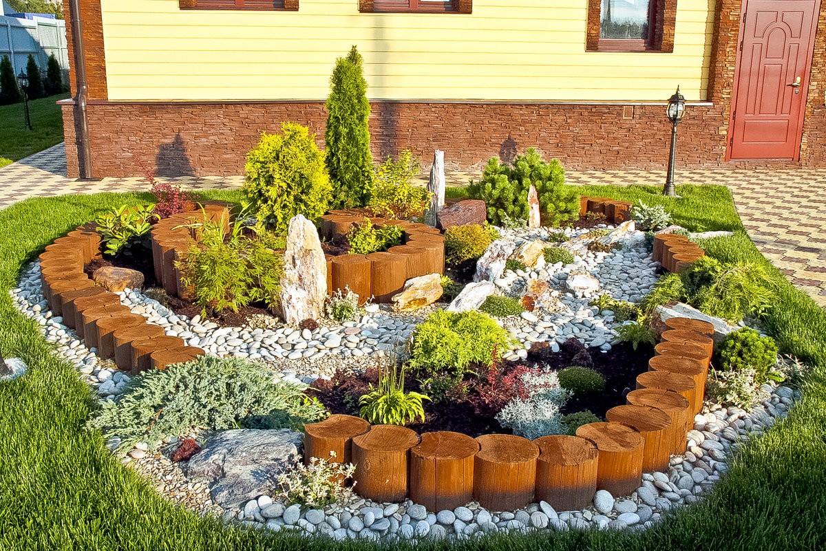 камни в саду дизайн фотогалерея искусству хорошо