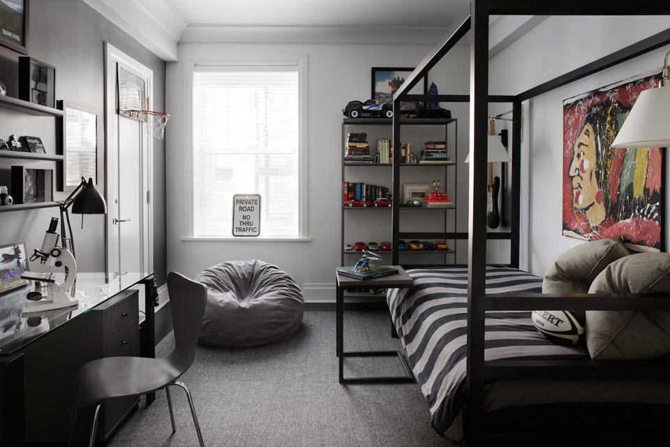 Меблировка комнаты современного подростка