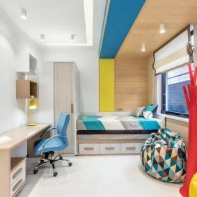 Дизайн детской комнаты в смешанном стиле