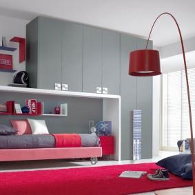 Современная мебель для подростковой комнаты
