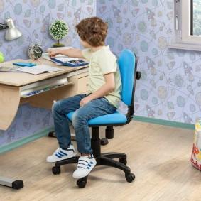 компьютерное кресло детское фото декора