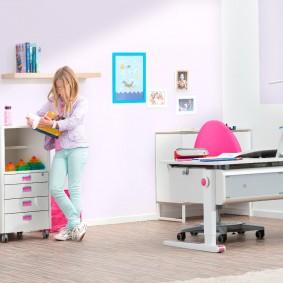 компьютерное кресло детское интерьер