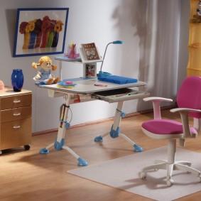 компьютерное кресло детское интерьер фото