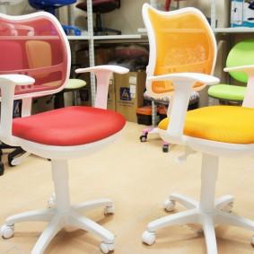 компьютерное кресло детское интерьер идеи