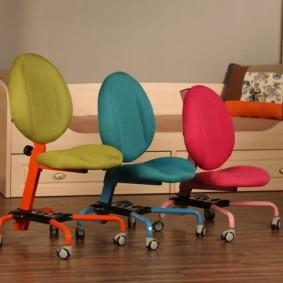 компьютерное кресло детское оформление