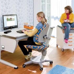 компьютерное кресло детское виды идеи