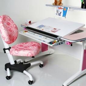 компьютерное кресло детское виды декора