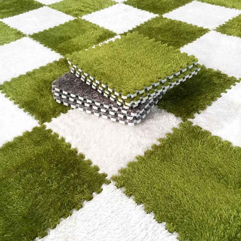 Мягкие плитки детского коврика