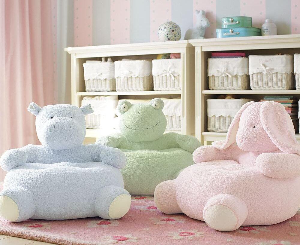 Кресла-игрушки для детей дошкольного возраста