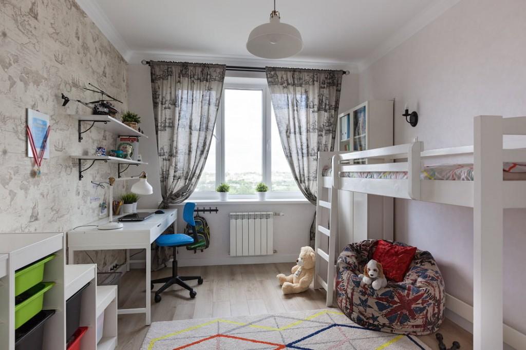 Детская спальня в трехкомнатной хрущевке
