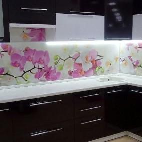 кухонный фартук из мдф дизайн фото