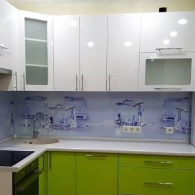 кухонный фартук из мдф фото декора